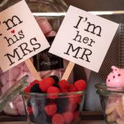 Candybar Detail Hochzeit