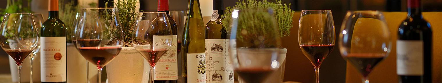Wein im Gourmetrestaurant Philipp Soldan