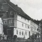 Marktplatz 3, 1925, alte Hotel Sonne