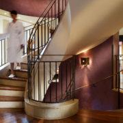 Treppenbereich Sonne Spa
