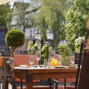 Sonne Terasse, Hotel Die Sonne Frankenberg.