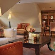 Wohnbereich der Soldan Suite